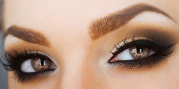 Техники перманентного макияжа бровей - теневая